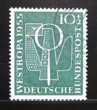 Poštovní známka Německo 1955 Výstava WESTROPA Mi# 217