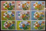 Poštovní známky Rovníková Guinea 1973 MS ve fotbale Mi# 275-83