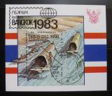Poštovní známka Laos 1983 Výstava BANGKOK Mi# Block 98