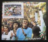Poštovní známka Guyana 1989 MS ve fotbale Mi# Block 59