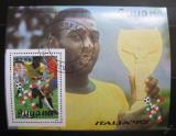 Poštovní známka Guyana 1989 MS ve fotbale Mi# Block 60