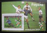 Poštovní známka Guyana 1989 MS ve fotbale Mi# Block 61