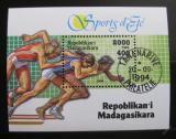 Poštovní známka Madagaskar 1994 Sport Mi# Block 262