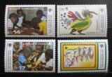Poštovní známky Svatý Tomáš 1979 Mezinárodní rok dětí Mi# 579-82