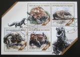 Poštovní známky Niger 2014 Varani Mi# 2785-88 Kat 12€