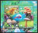 Poštovní známky Maledivy 2014 Houby Mi# 5395-98