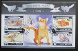 Poštovní známky Maledivy 2015 Domácí kočky Mi# 5810-13 Kat 10€