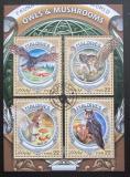 Poštovní známky Maledivy 2016 Houby a sovy Mi# 6762-65