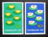 Poštovní známky Dánsko 1977 NORDEN, severská spolupráce Mi# 635-36