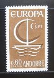 Poštovní známka Andorra Fr. 1966 Evropa CEPT Mi# 198