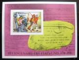 Poštovní známka Niger 1976 Americká revoluce neperf. Mi# Block 13 B