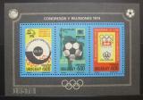 Poštovní známka Uruguay 1974 Výročí Mi# Block 21 Kat 70€