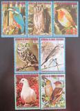 Poštovní známky Rovníková Guinea 1976 Ptáci Evropy Mi# 929-35