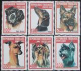 Poštovní známky Togo 1999 Psi Mi# 2823-28