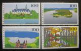 Poštovní známky Německo 1996 Scénické regiony Mi# 1849-52