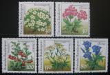 Poštovní známky Německo 1991 Květiny Mi# 1505-09