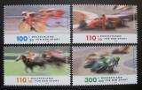 Poštovní známky Německo 1999 Závodní sporty Mi# 2031-34