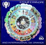 Poštovní známka Svatý Tomáš 1979 Mezinárodní rok dětí Mi# Block 34 Kat 35€