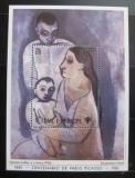 Poštovní známka Svatý Tomáš 1981 Umění, Picasso Mi# Block 69 Kat 18€