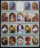 Poštovní známky Svatý Tomáš 1981 Umění Mi# 722-36