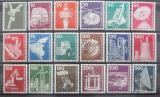 Poštovní známky Německo 1975-78 Průmysl Mi# 846-59,990-94 Kat 25€