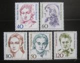 Poštovní známky Německo 1986-87 Slavné ženy, ročníky
