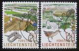 Poštovní známky Lichtenštejnsko 1999 Evropa CEPT Mi# 1190-91