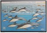 Poštovní známka Jersey 2000 Delfíni Mi# Block 26