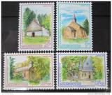 Poštovní známky Lucembursko 1989 Kaple Mi# 1232-35
