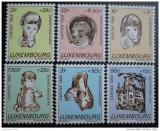 Poštovní známky Lucembursko 1968 Postižené děti Mi# 779-84
