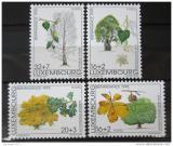 Poštovní známky Lucembursko 1995 Stromy Mi# 1380-83