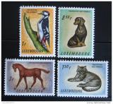 Poštovní známky Lucembursko 1961 Ochrana zvířat Mi# 637-40