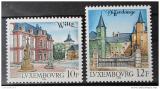 Poštovní známky Lucembursko 1988 Pamětihodnosti Mi# 1201-02