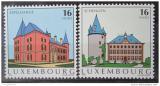 Poštovní známky Lucembursko 1995 Pamětihodnosti Mi# 1375-76