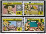 Poštovní známky Tanzánie 1982 Skautský rok Mi# 205-08