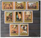 Poštovní známky Niger 1983 Umění, Raffael Mi# 835-42