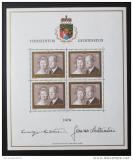 Poštovní známky Lichtenštejnsko 1974 Knížecí pár Mi# 614 Kat 65€