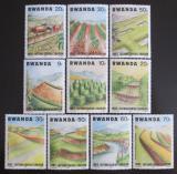 Poštovní známky Rwanda 1983 Boj proti půdní erozi Mi# 1224-33