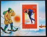 Poštovní známka KLDR 1978 ZOH Innsbruck Mi# Block 43