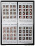 Poštovní známky Lichtenštejnsko 1981 Umění Mi# 784-87 Kat 80€