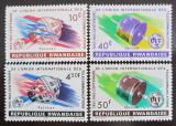 Poštovní známky Rwanda 1965 Století ITU Mi# 114-17