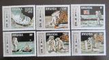 Poštovní známky Rwanda 1980 Průzkum Měsíce Mi# 1027-32