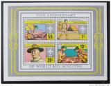 Poštovní známky Tanzánie 1982 Skautský rok Mi# Block 29