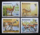 Poštovní známky Botswana 1988 Voduška, WWF 068 Mi# 431-34