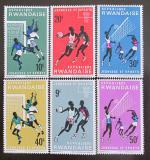 Poštovní známky Rwanda 1966 Mládež a sport Mi# 171-76