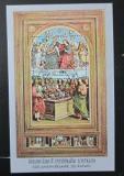 Poštovní známka Laos 1983 Umění, Raffael Mi# Block 93