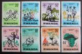 Poštovní známky Rwanda 1978 Skauti Mi# 914-21
