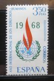 Poštovní známka Španělsko 1968 Rok lidských práv Mi# 1763