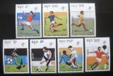 Poštovní známky Kambodža 1990 MS ve fotbale Mi# 1089-95