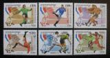 Poštovní známky Kambodža 1998 MS ve fotbale Mi# 1786-91